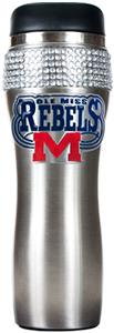 NCAA Rebels Stainless Steel Bling Travel Tumbler