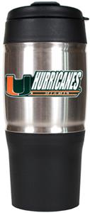 NCAA Miami Hurricanes Heavy Duty Travel Tumbler