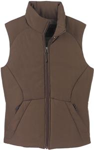 North End Ladies Polyester Ripstop Insulated Vest