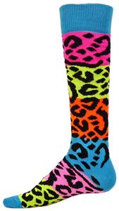 Red Lion Rainbow Leopard Socks