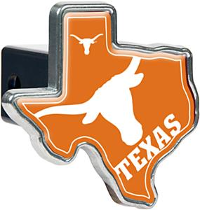 NCAA Longhorns Texas Shaped Trailer Hitch Cover