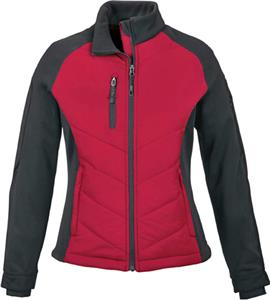 NorthEnd Sport Epic Ladies Insulated Hybrid Jacket