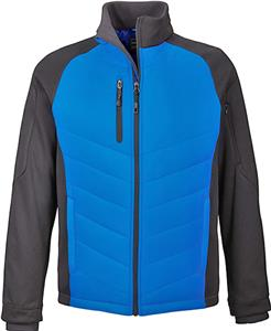 North End Sport Epic Mens Hybrid Fleece Jacket