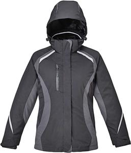 North End Ladies Height 3-in-1 Jacket