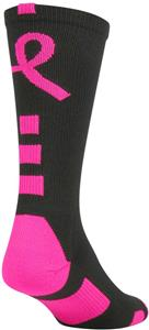 Twin City Perimeter 2.0 Pink Aware Crew Socks