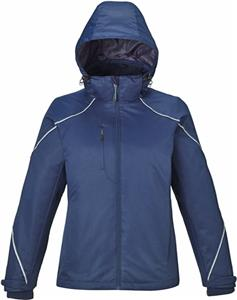 North End Ladies Angle 3-in-1 Jacket