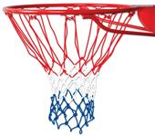 "Braided (Red/White/Blue) 21"" Nylon Basketball Nets"