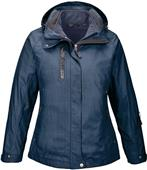 North End Caprice Ladies 3-in-1 Jacket With Liner