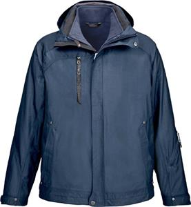 North End Caprice Mens 3-in-1 Jacket with Liner