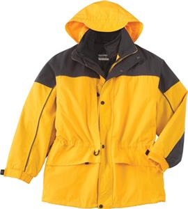 North End Mens 3-in-1 Two Tone Parka