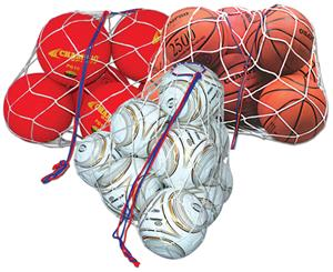 Braided Nylon All Sport Ball Bag (holds 10 balls)