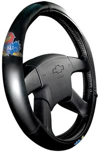 Northwest NCAA Kansas Steering Wheel Covers
