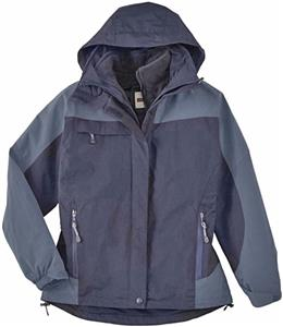North End Ladies 3-in-1 Rip Stop Jacket