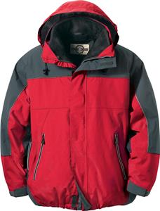 North End Mens Techno 3-in-1 Seam Sealed Jacket