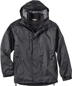 North End Mens 3-in-1 Techno Hooded Jacket