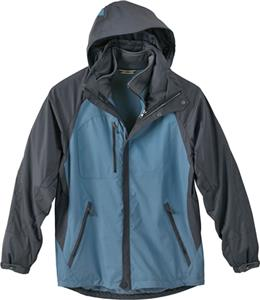 North End Mens Performance 3-n-1 Mid Length Jacket