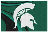 Northwest NCAA Michigan State Cosmic Rugs
