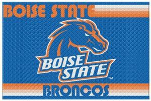 Northwest NCAA Boise State Old Glory Rugs
