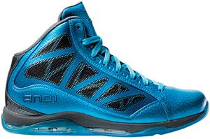 AND1 Men's Entourage Mid Basketball Shoes