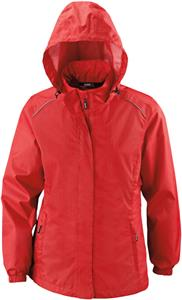 Core365 Climate Ladies Variegated Ripstop Jacket