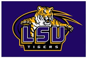 "Northwest NCAA LSU Tigers 20""x30"" Rugs"