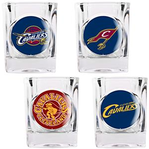 NBA Cleveland Cavaliers Collector's Shot Glass Set