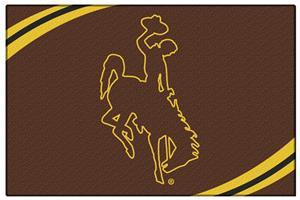 "Northwest NCAA Wyoming Cowboys 20""x30"" Rugs"