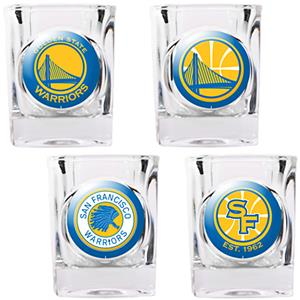 NBA Golden State Warriors Collector's Shot Glasses