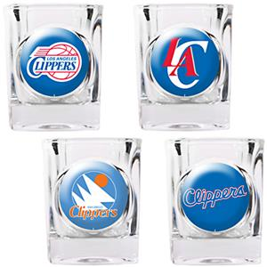 NBA Los Angeles Clippers Collector's Shot Glasses