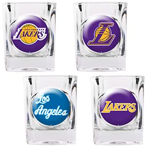 NBA Los Angeles Lakers Collector's Shot Glass Set