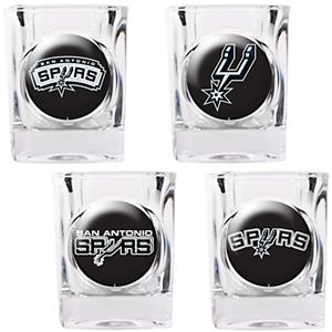 NBA San Antonio Spurs Collector's Shot Glass Set