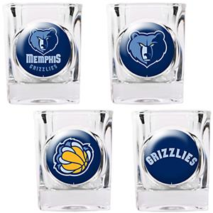 NBA Memphis Grizzlies Collector's Shot Glass Set