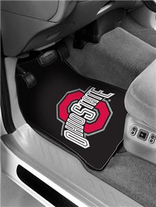 Northwest NCAA Ohio State Buckeyes Car Mats