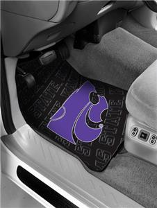 Northwest NCAA K-State Wildcats Car Mats
