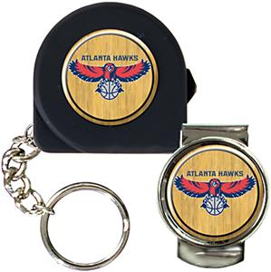 NBA Atlanta Hawks 6' Tape Measure/Money Clip Set