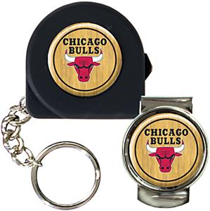 NBA Chicago Bulls 6' Tape Measure/Money Clip Set