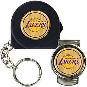 NBA Los Angeles Lakers Tape Measure/Money Clip Set
