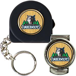 NBA Minnesota Timberwolves Tape Measure/Money Clip