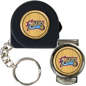 NBA Philadelphia 76ers Tape Measure/Money Clip Set