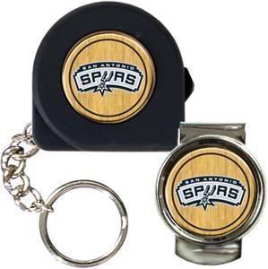 NBA San Antonio Spurs Tape Measure/Money Clip Set