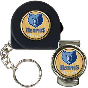 NBA Memphis Grizzlies Tape Measure/Money Clip Set