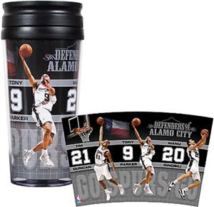 NBA San Antonio Spurs Acrylic Travel Tumbler