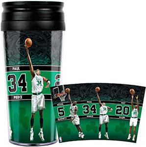 NBA Boston Celtics Acrylic Travel Tumbler
