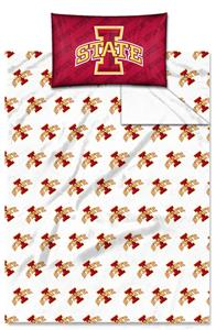 Northwest NCAA Iowa State Cyclones Twin Sheet Sets