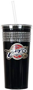 NBA Cleveland Cavaliers Bling Tumbler w/ Straw