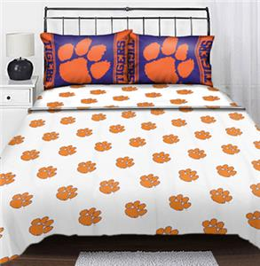 Northwest NCAA Clemson Tigers Full Sheet Sets
