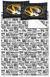Northwest NCAA Missouri Tigers Full Sheet Sets