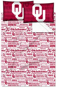 Northwest NCAA Oklahoma Sooners Full Sheet Sets