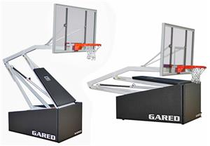 Gared Hoopmaster Portable Basketball Backstop