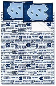 Northwest NCAA UNC Tar Heels Full Sheet Sets